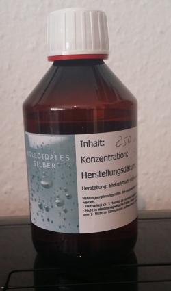 Argent colloïdal 50 ppm